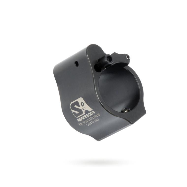 "Superlative Arms Adjustable Gas Block .750"" Set Screw - Melonite Finish"
