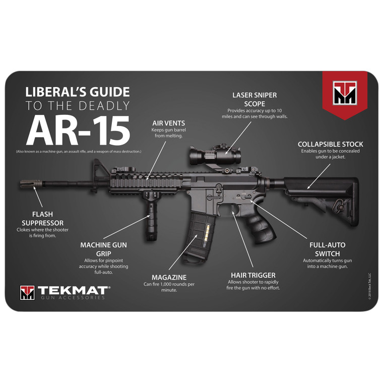 TekMat Cleaning Mat - Liberal's Guide To Deadly AR-15