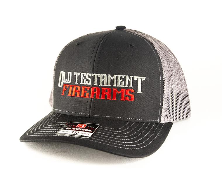 OT Firearms Trucker Hat - Black with Gray - Snapback