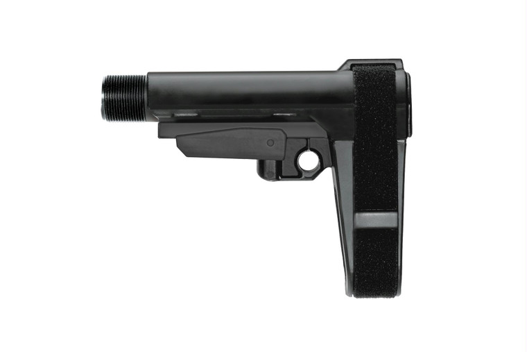 SB Tactical SBA3 Pistol Brace - Black | 5-Position Adjustable