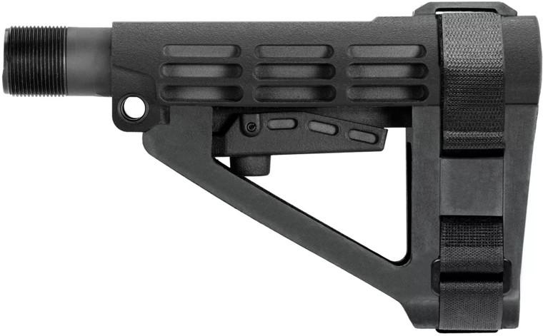 SBA4 Pistol Brace 5-Position Adjustable - Black