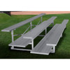 Gared Standard Bleachers - Three Row, Double Foot Plank