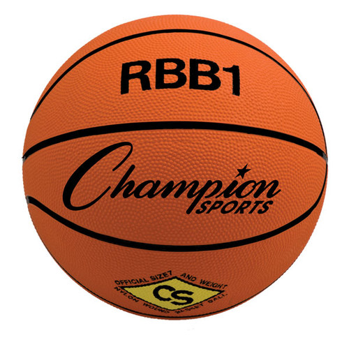 Champion Official Size Rubber Basketball