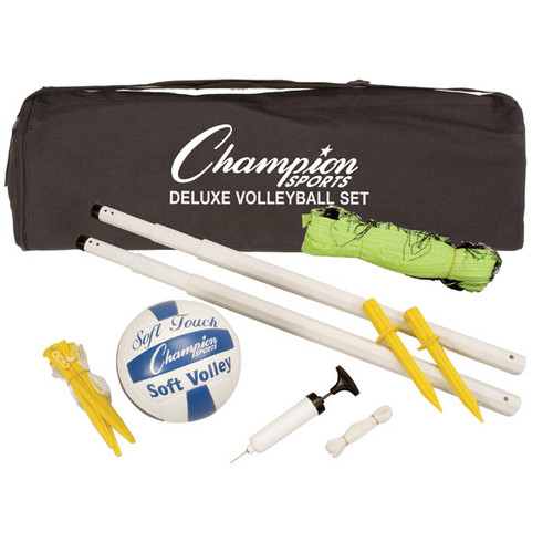 Champion Deluxe Volleyball Set