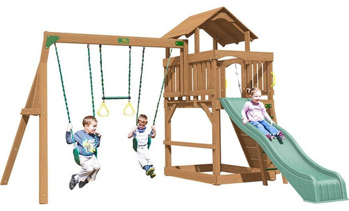 Creative Playthings Eastport Playtime Swing Set - OUT OF STOCK