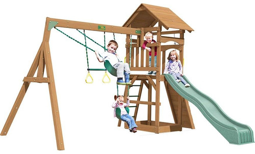 Creative Playthings Raleigh Playtime Swing Set
