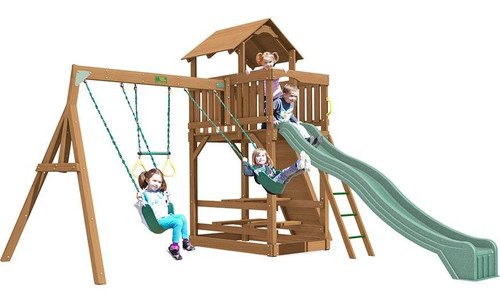 Creative Playthings Spring Hill Playtime Swing Set