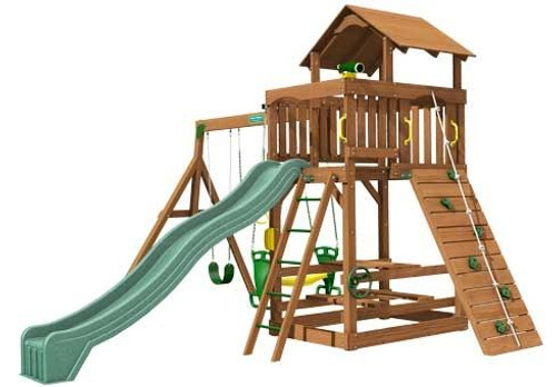 Creative Playthings Spring Hill Deluxe Playtime Swing Set