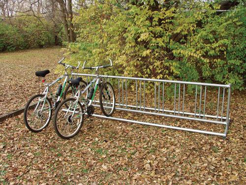 Double-Side Traditional Portable Bike Rack