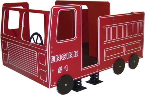 Fire Truck Spring Rider