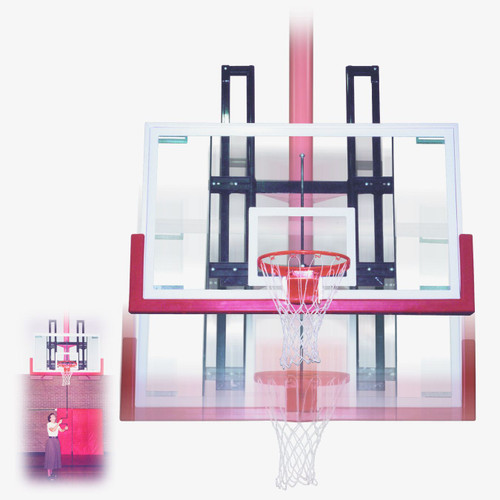 First Team Backboard Height Adjuster - 20 Inch X 35 Inch Mounting Dimensions