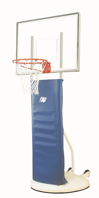 Bison Playtime Elementary Portable Hoop - 48 Inch Acrylic