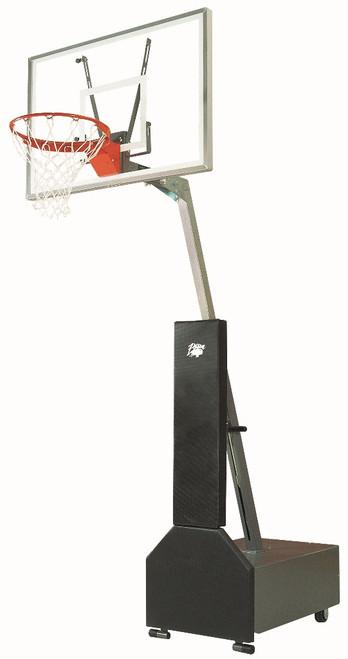 Bison Club Court Portable Basketball Hoop - 48 Inch Acrylic