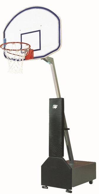 Bison Club Court Portable Basketball Hoop - 48 Inch Graphite