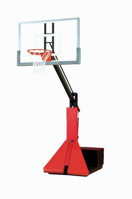 Bison Glass Max Portable Basketball Hoop - 54 Inch Glass