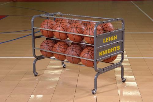 Bison Lockable Basketball Ball Cart