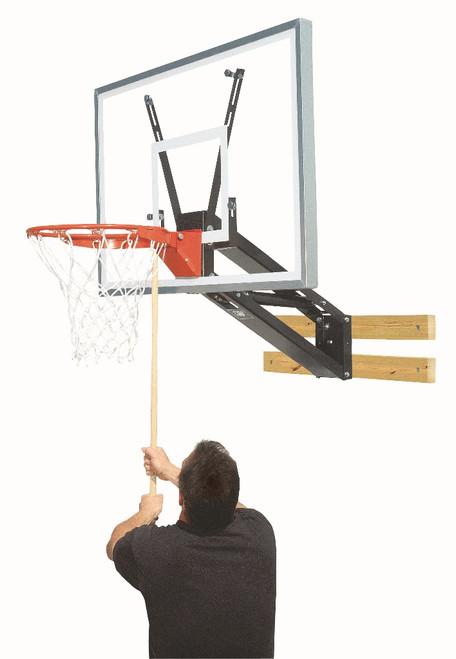 Bison QwikChange Wall Mounted Basketball Hoop - 48 Inch Acrylic