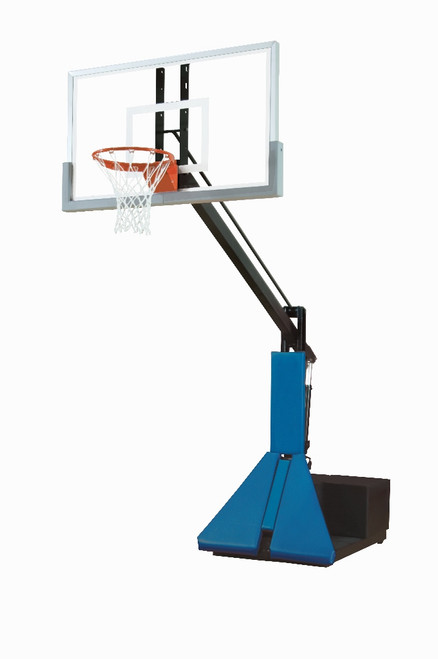 Bison Super Max Portable Basketball Hoop - 60 Inch Glass