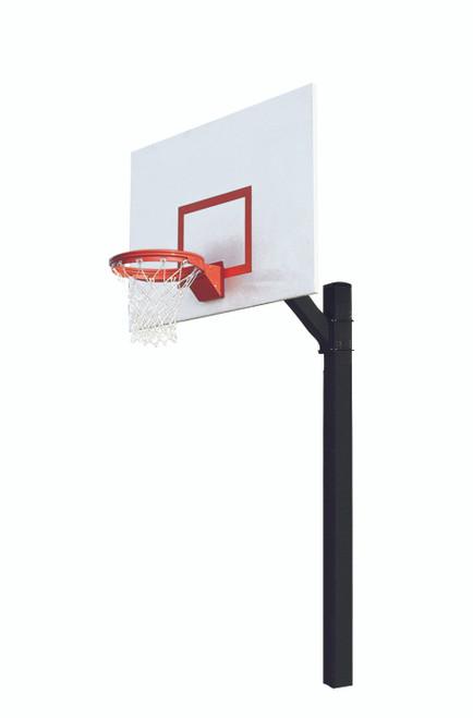 Bison Ultimate Junior Fixed Height Basketball Hoop - 60 Inch Steel