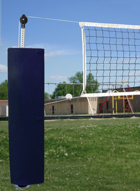 First Team QuickSet Semi-Permanent Backyard Volleyball Set with Sockets