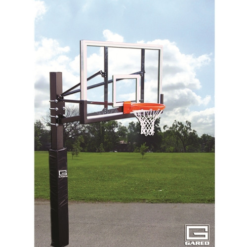 Gared Endurance Playground Fixed Height Hoop - 60 Inch Acrylic