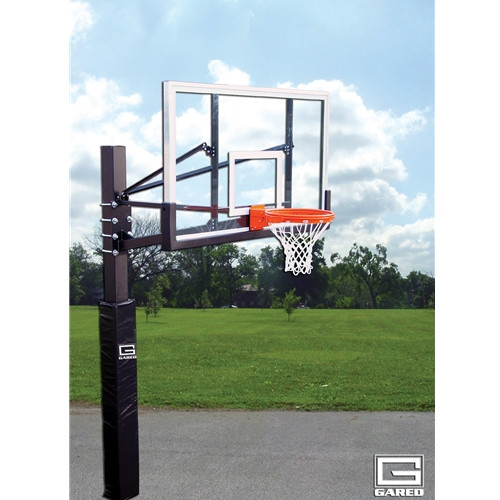 Gared Endurance Playground Fixed Height Hoop - 72 Inch Polycarbonate