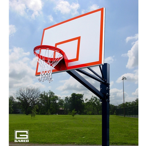 Gared Endurance Playground Fixed Height Hoop - 72 Inch Steel
