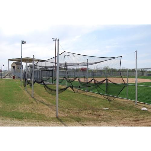 Gared 55' Aluminum Outdoor Baseball Batting Cage