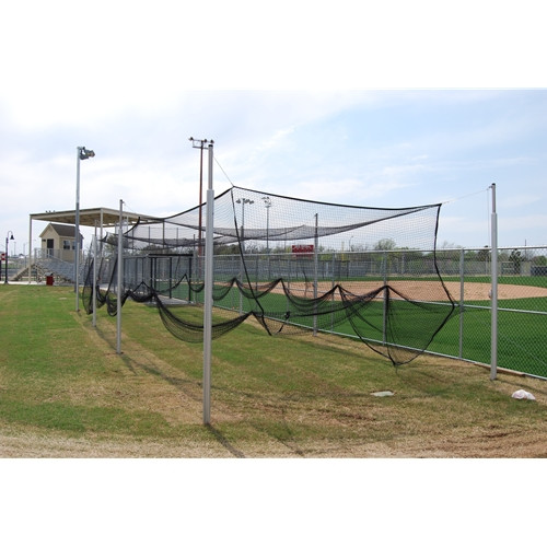 Gared 55' Outdoor Batting Cage Net Only
