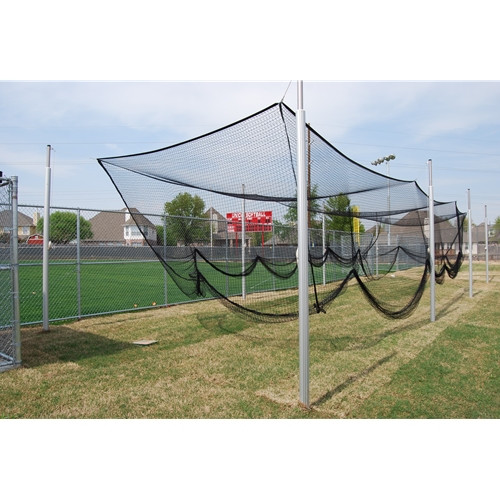 Gared 55' Steel Outdoor Baseball Batting Cage