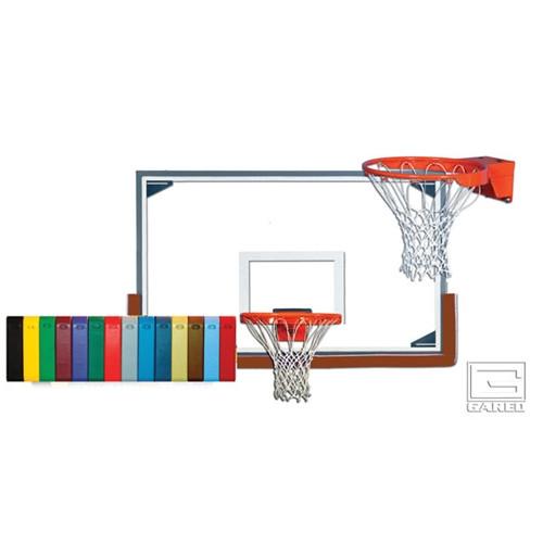 Gared Scholastic Backboard Package - Backboard, Rim, Net, Padding