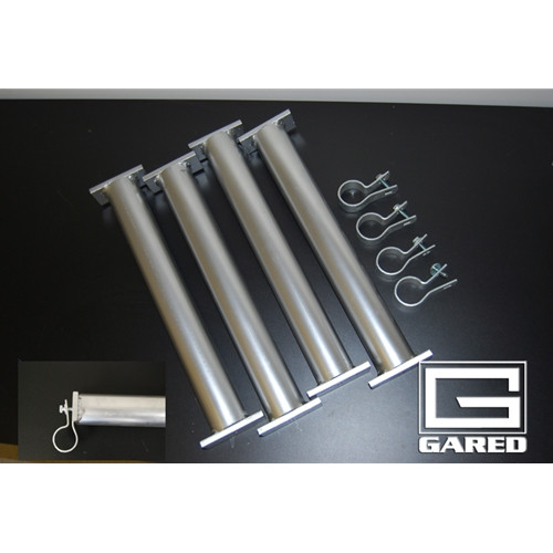 Gared Underground Anchors for Portable Soccer Goals