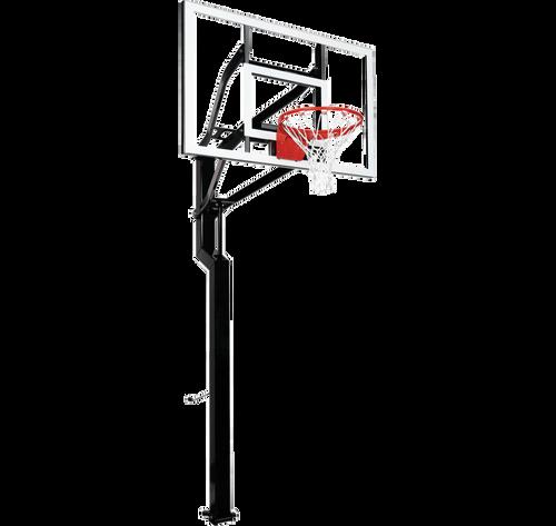 Goalsetter All-Star Inground Adjustable Hoop - 54 Inch Glass or Acrylic