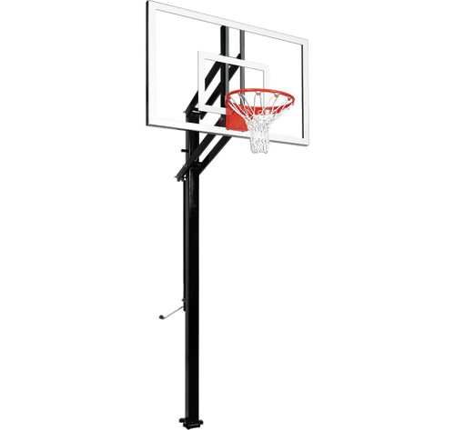 Goalsetter Extreme X454 Inground Adjustable Hoop - 54 Inch Glass or Acrylic