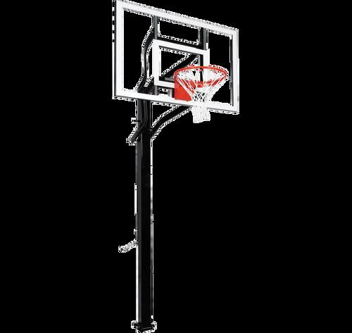 Goalsetter Extreme X554 Inground Adjustable Hoop - 54 Inch Glass or Acrylic