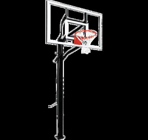 Goalsetter Extreme X560 Inground Adjustable Hoop - 60 Inch Glass or Acrylic