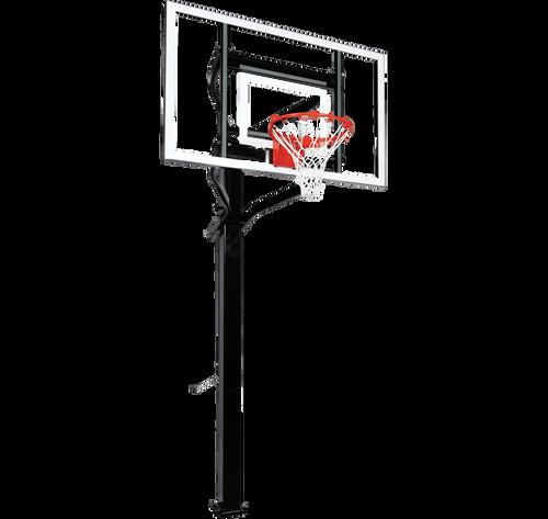 Goalsetter Extreme X660 Inground Adjustable Hoop - 60 Inch Glass or Acrylic