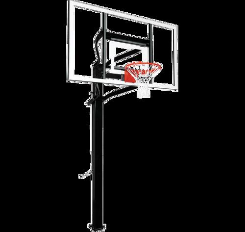 Goalsetter Extreme X672 Inground Adjustable Hoop - 72 Inch Glass or Acrylic