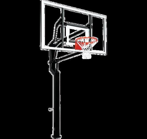 Goalsetter MVP Inground Adjustable Hoop - 72 Inch Glass or Acrylic