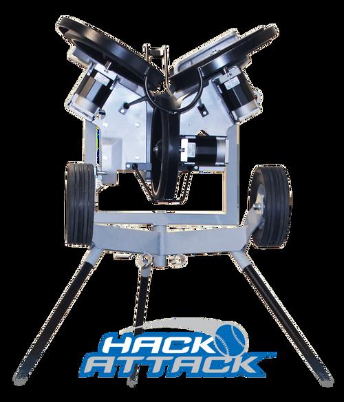 Hack Attack Baseball Pitching Machine Leg Extensions