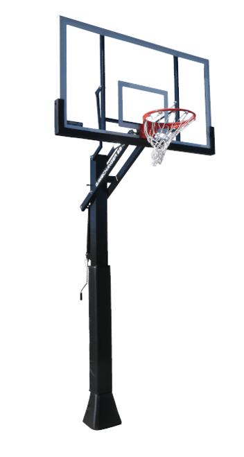 Ironclad Game Changer 66-XXL Inground Adjustable Hoop - 72 Inch Glass