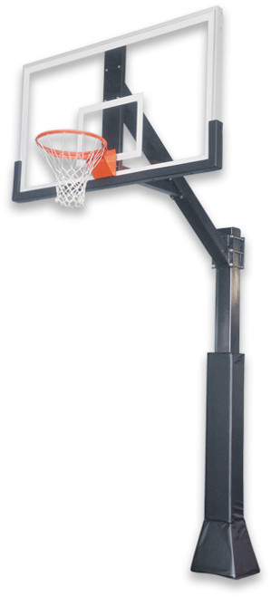 Ironclad HIL 664-XXL Inground Fixed Height Hoop - 72 Inch Glass