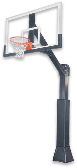 Ironclad HIL 885-XXL Inground Fixed Height Hoop - 72 Inch Glass - OUT OF STOCK