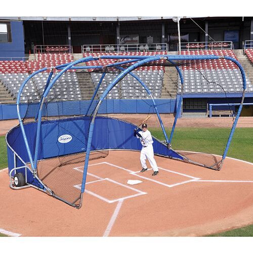 Jaypro Big League Portable Baseball Batting Cage
