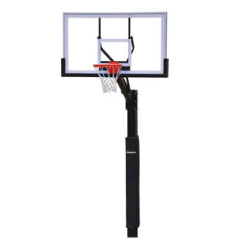 Jaypro Church Yard Fixed Height Basketball Hoop - 48 Inch Acrylic