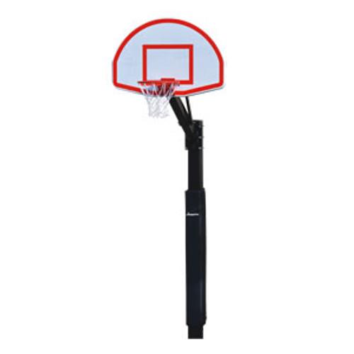 Jaypro Church Yard Fixed Height Basketball Hoop - Fan Aluminum