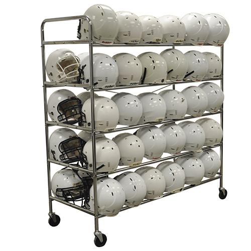 Jaypro Deluxe Helmet Storage Rack
