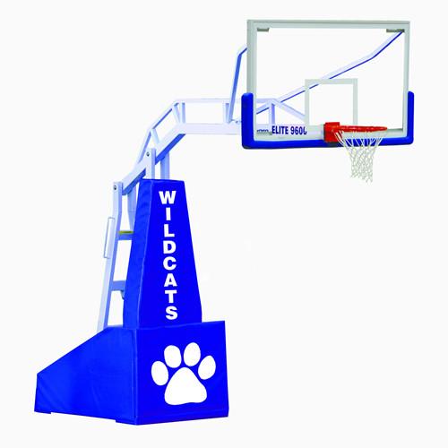 Jaypro Elite 9600 Portable Basketball Hoop - 72 Inch Glass