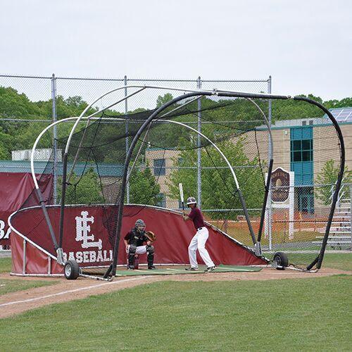 Jaypro Grand Slam Collegiate Portable Baseball Batting Cage