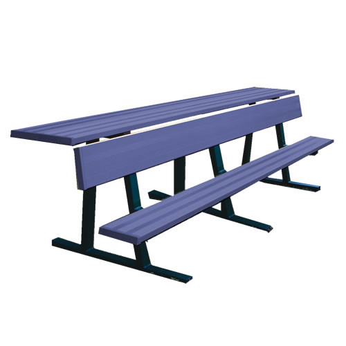 Jaypro Player Bench with Shelf